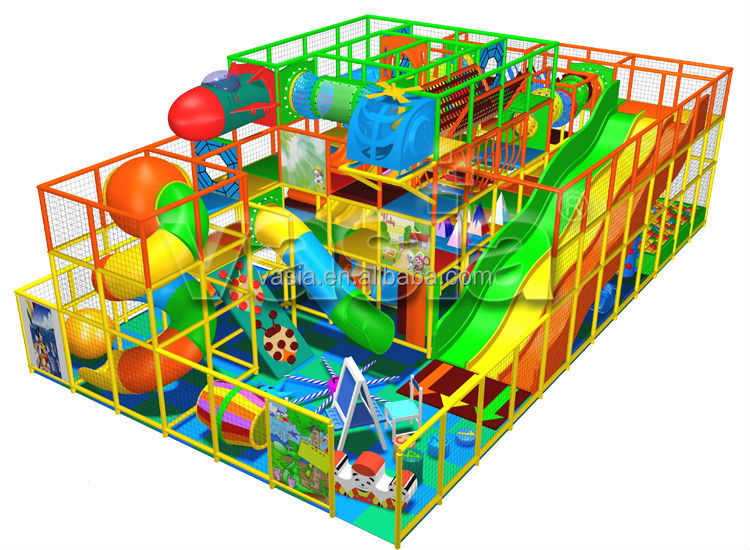 Inflatable commercial kids jungle gym indoor playground for Indoor play structure prices