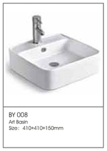 BY008 Hot Sale Bathroom Washbasin Units China Bathrooms Direct Supplier Wash Basin Units Factory