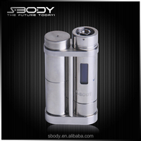 2015 new arriver EZ DNA30-2 big battery mod e cigarette dna 30 box mod