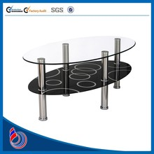 Moroccan adjustable height acrylic marble animal l shaped coffee table in good taste