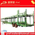 Mejor venta de tipo 2 eje del coche remolque de transporte/las compañías de coches para la venta