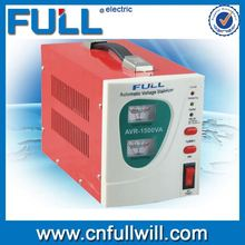 Chian hot sale new wholesale AVR-1500VA electrical type 3 phase ac automatic voltage regulator