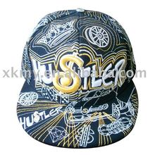 2012 new style 100% cotton fashion cap for fashion people
