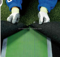 Two part Polyurethane Adhesive for bonding artificial grass to seam jointing tapes and solid sub-surfaces
