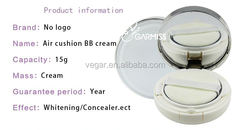 natural bb cream OEM Air Cushion bb Cream Skin Whitening Makeup
