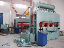 mdf laminating hot press machine