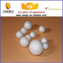 YIWU high quality soft polystyrene foam balls / styrofoam ball for christmas ornament