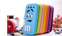 MM finger beans Silicon gel skin Cover for Samsung Galaxy S3 i9300 Case