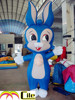 CILE 2015 hot selling custom inflatable blue rabbit model (advertising, sales promotion, simulator, events)
