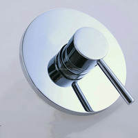 Round Tap Wall mounted shower and Bath Mixe mixer faucet tap control valve