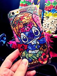Fashion 3d cell phone case for iphone 6, tpu mobile phone cover for iphone 6