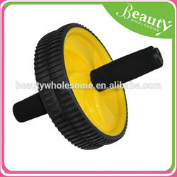 double exercise wheel ,ADE066 , indoor exercise equipment