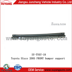 suyang auto replacement front bumper support for Toyota Haice 2005(High Roof) for sale
