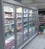 anti fog schotte glass insulated deil refrigerator glass door sliding curved refrigerator glass door/anti-fog