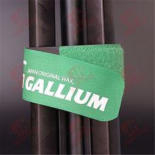 2015 new style velcro ski strap, velcro ski clip with good rubber for ski lovers