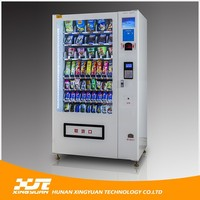 Factory directly provide automatic retail food vending machine