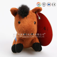 Promotion gift toy plush electric large horse toy