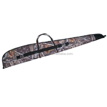 E3028 Deluxe Canvas & Leather Gun Case for Hunting