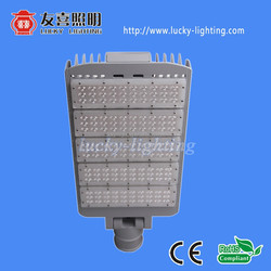 Install Beam angle adjustable china led street light 150w Meanwell Driver