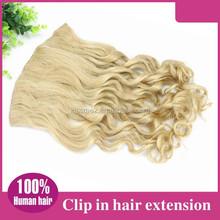 Alibaba Wholesale 100%Hair Extensions blonde half wigs