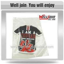 Advertising Polo Shirt Hanging Car Air Freshener, Cotton Paper Freshener