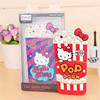 soft KT cat silicone popcorn phone case for iPhone6
