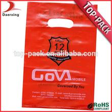 nuevo diseño personalizado de marca baratos bolsas de plástico