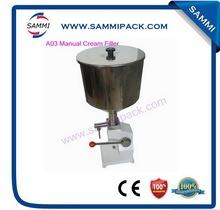 Popular top sell liquid cream filling machine costs