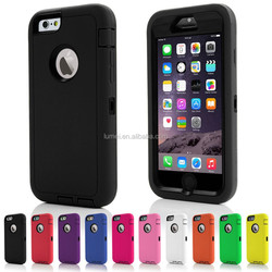 """Heavy Duty ShockProof Rugged Defender Case Cover for iphone 6 4.7"""""""