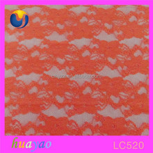nylon spandex lace fabric sample