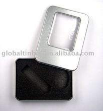 USB storage box tin case metal box