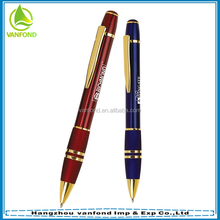New arrival promotional gifts items heavy metal brass pen
