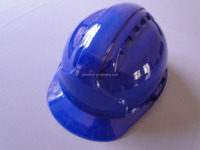 safety helmet with visor CE certificate ABS material blue ratchet