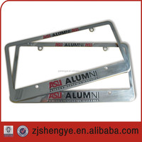 US size ABS chromed license plate frame or license plate holder