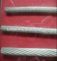 All types of bare conductor wires overhead cable