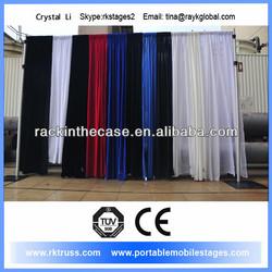 Pipe and drape for wedding desigh, event desigh, stage backfrop desigh