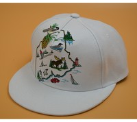 NEW Black Fashion trend Men's 5 panel snapback cap Hip Hop hat