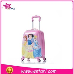 a heart for you pink girl school kids luggage wheeled bags rolling bags