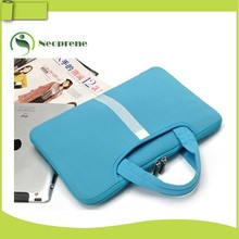 "Blue 14"" Laptop sleeve bag, neoprene laptop sleeve"