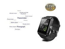 Android&IOS Bluetooth Smart Wrist Watch Phone U8 Mate For Iphone Samsung LG