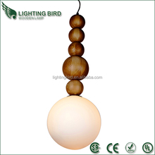 2015 hot sale ul ce saa wood pendant light pendant lamp kit
