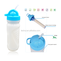 New Arrival Drinking Water Plant Sports Water Bottle Activated Carbon Filter