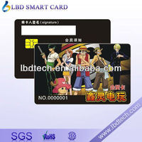 High Quality PVC/Plastic Trading Contact Smart Card