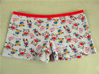 3015-2 japanese children model underwear rich girl in white panties kids lovely cotton animal printing briefs OEM to MDV clothes