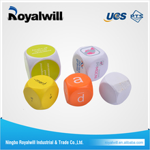 High Quality factory directly new custom letter dice of Royalwill