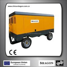 13m3/min portable diesel screw air compressor shanghai dragon
