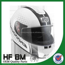 carbon fiber motorcycle racing helmet, white german helmet motocross