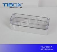 hot sale IP66 waterproof plastic enclosure standard din rail plastic enclosure