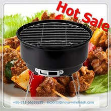 BBQ Grill Mesh / Barbecue Wire Mesh Used To Roast Smoke or Raise Meat, Wheaten Food,Vegetable
