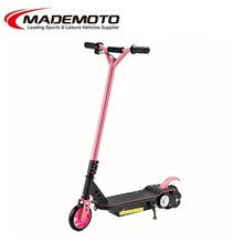 Folding electric mobility scooter for handicapped